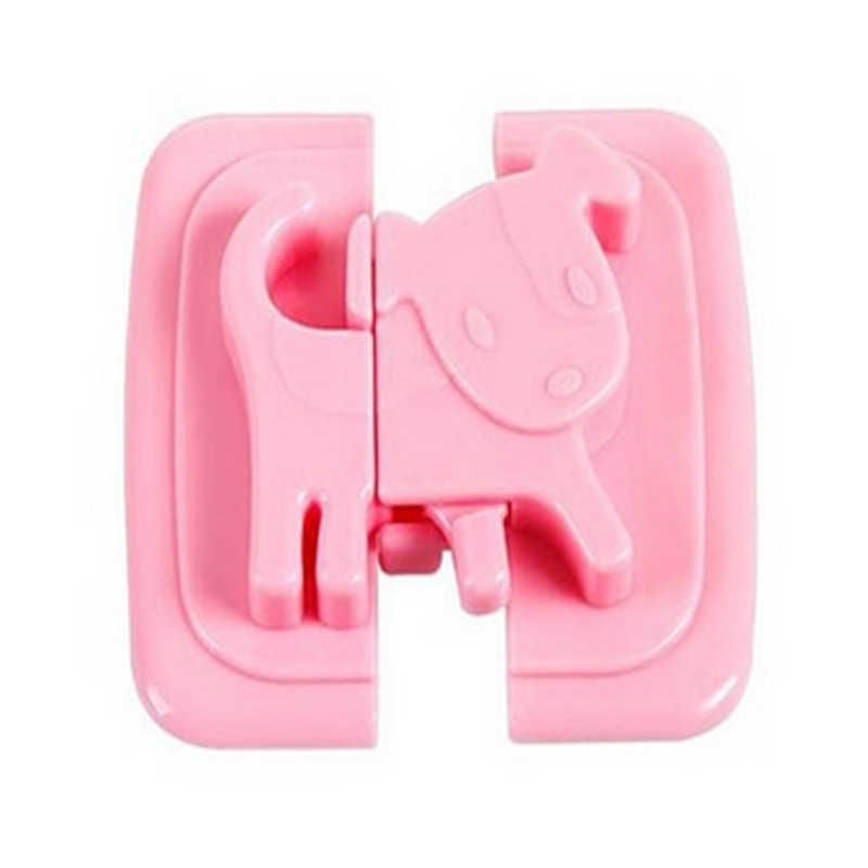 Устройства для детской безопасности мультфильм Форма дети уход за детьми; защита безопасности замки и ремни продукты для дверь холодильника замки для шкафов