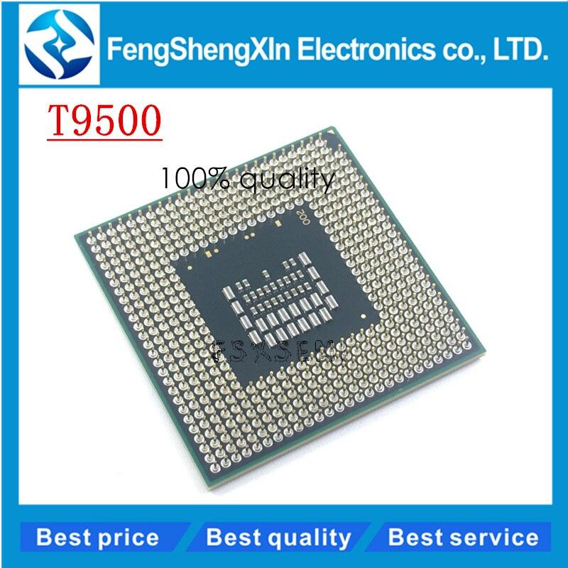 CPU laptop Core 2 Duo T9500 CPU 6M Cache/2.6GHz/800/Dual-Core Socket 478Laptop processor for GM45 PM45