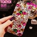 Diamond case capa Для Samsung Galaxy A3 A5 A7 J1 J2 J3 J5 J7 2016 A8 A9 A310 A510 A710 Случае bling Rhinestone Кристаллическое принципиально Coque