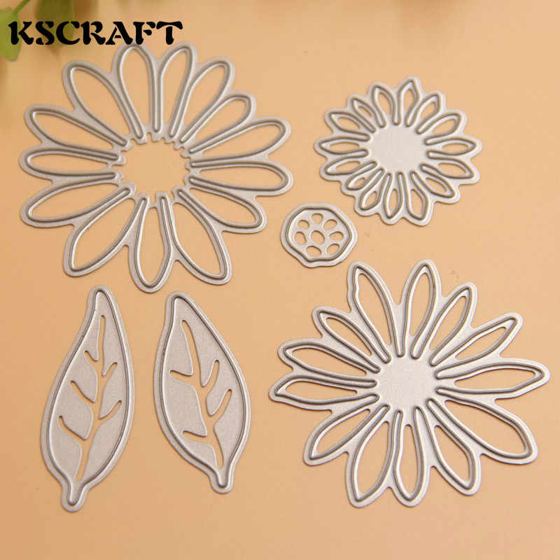 KSCRAFT Flower Metal Cutting Dies Stencils for DIY Scrapbooking Stamp/photo album Decorative Embossing DIY Paper Cards