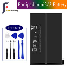 club factory  Replacement Battery for iPad Mini 2/Mini 3, Repair Tools Kit, 0 Cycle 6471mAh Li-ion