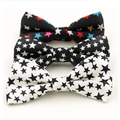 2017 Designer Bow Ties Fashion Bowtie with Star Pre-tie Tuxedo for Party Stage (3 Colors for Choose)