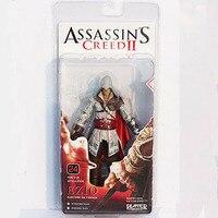 assassins creed ii 2 אציו של neca assassin pvc פעולה איור צעצוע 18 ס