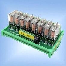2~ 24 канала Omron G2R-1-E релейный модуль усилитель доска терминал конвертер SPDT 16A PNP/NPN PLC сигнал 24 В или 12 В din-рейка