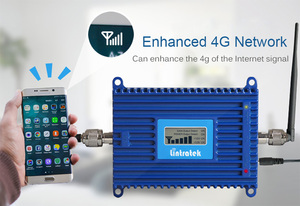 Image 2 - Lintratek 4g LTE 2600 mhz Banda 7 70dB 2600 mhz Celular Amplificador Repetidor de Sinal de Telefone Celular Repetidor De Sinal de Celular com repetidor de antena 4g reforço de sinal gsm Função ALC e cabo de 15m celular