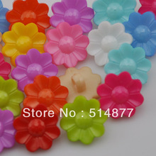 200pcs Sun Flowers Mixed Resin Backhole Sewing Scrapbooking Kids Baby sewing buttons Bouton