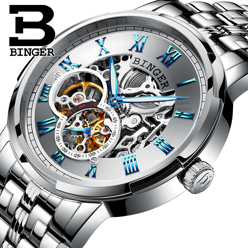 Classic Business Designer Skeleton Men Self Winding Mechanical Watches Roman Number Vintage Hollow Watch Full Steel Wrist watchClassic Business Designer Skeleton Men Self Winding Mechanical Watches Roman Number Vintage Hollow Watch Full Steel Wrist watch