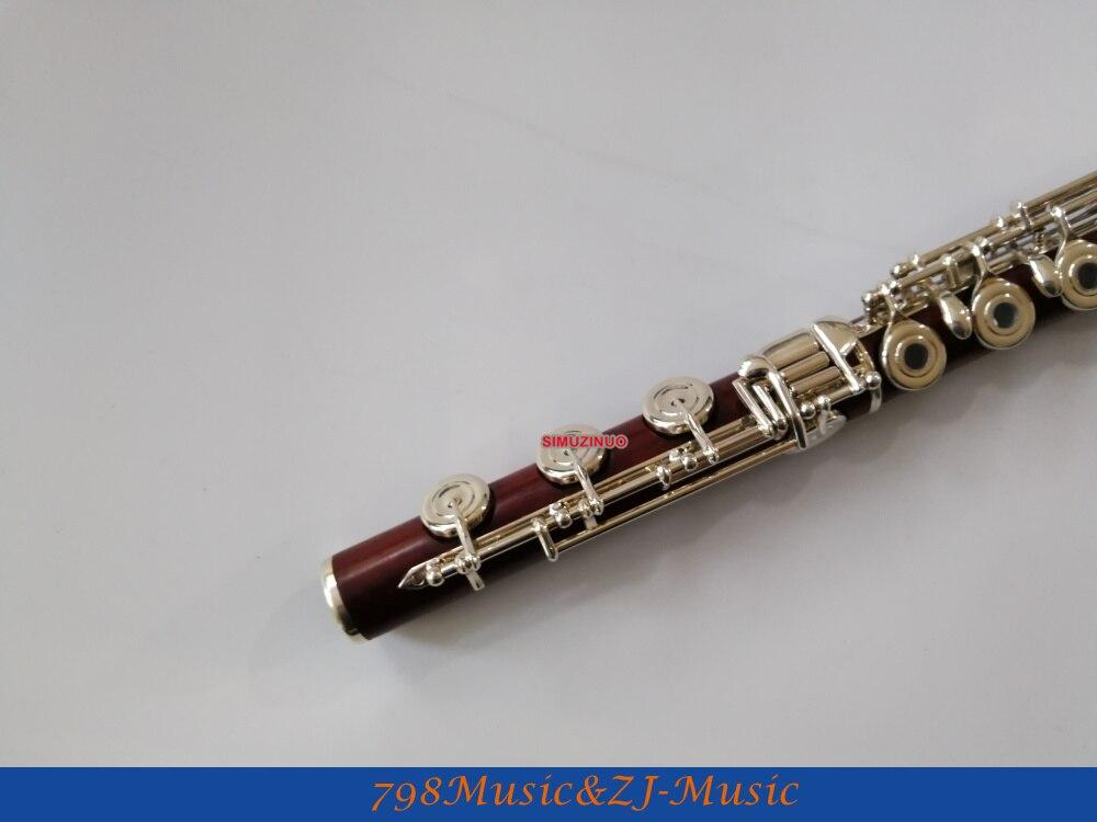 Star river (sr) flauta de madeira rosa-b