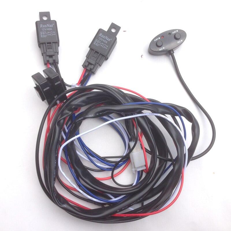 12 v 40A 260 Watt Auto on/off schalter relais harness Anschluss ...