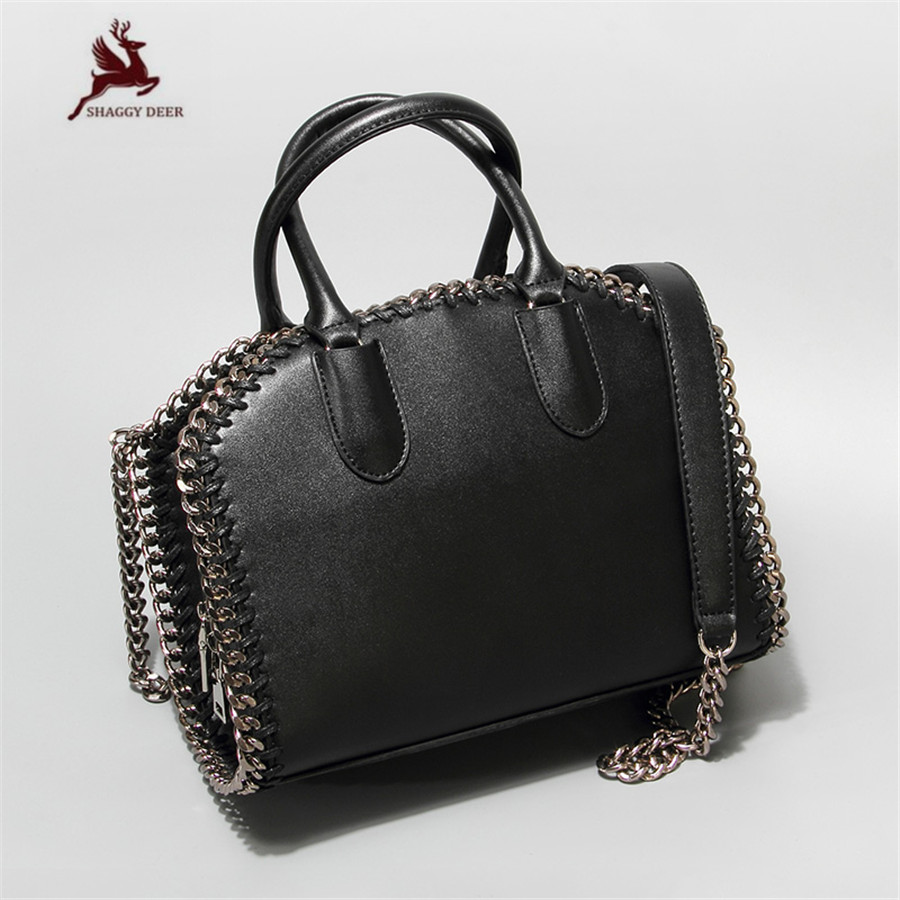 2017 Shaggy Deer Brand Euro Fashion Chain Weave Wrist bag Crossbody Versatile Lady Box Handbag mini gray shaggy deer pvc quilted chain bag with cover real picture