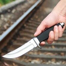 Вольтрон высокопрочный дикий нож выживания, защитные открытый дайвинг тактический нож G10 Генделя 440C лезвие
