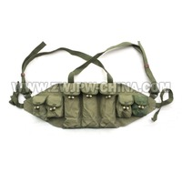 Vietnam War Original Surplus Chinese Army Type 56 Hunting AK47 Chest Rig Ammo Pouch Bag CN