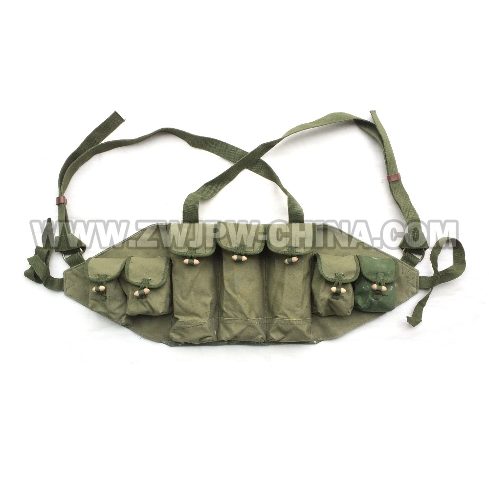Vietnam War Original Surplus Chinese Army Type 56 Hunting AK47 Chest Rig Ammo Pouch Bag CN/10122 vietnam the real war