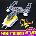 Новый 691 Шт. Лепин 05065 Подлинная Звезда Серии Война y-крыла Истребителей Набор Строительные Блоки Кирпичи Развивающие Игрушки подарок 75172