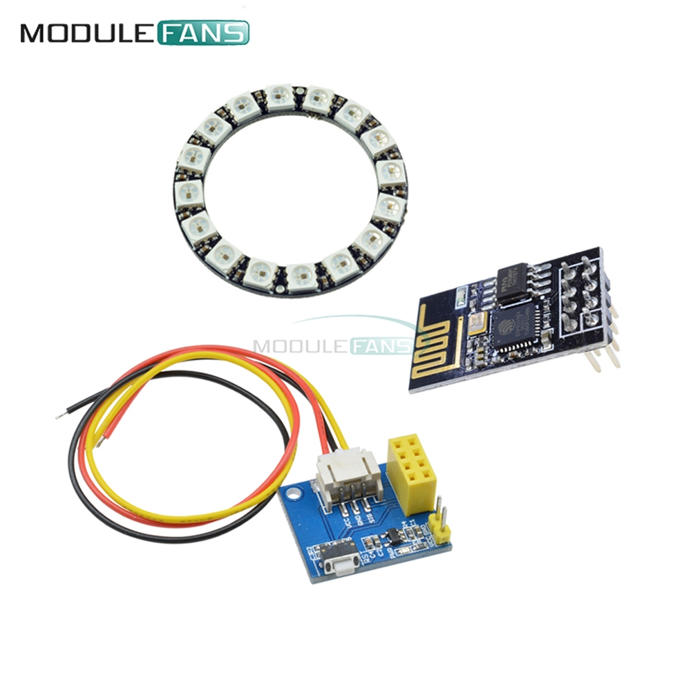 1Pcs ESP8266 ESP 01 ESP 01S RGB LED Controller Module DIY DC