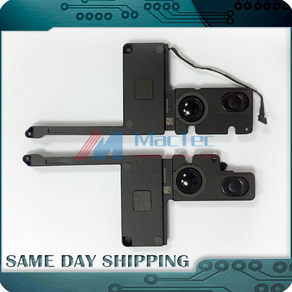 NEW Genuine for MacBook Pro 15 A1398 Left Right L + R Speaker Set 2012-2015 Year 609-0336 609-0365 609-0339 609-0364 076-1401