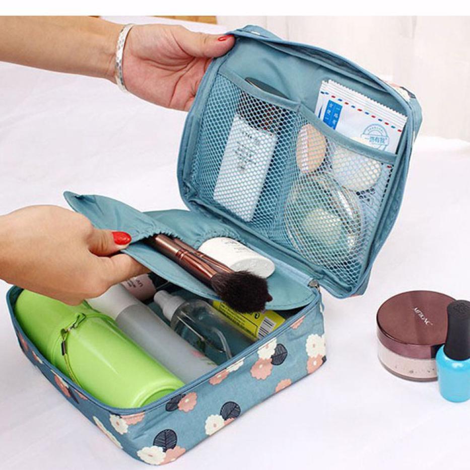 Women's Waterproof Travel Organization Cosmetic Toiletry Storage Wash Bags Handb