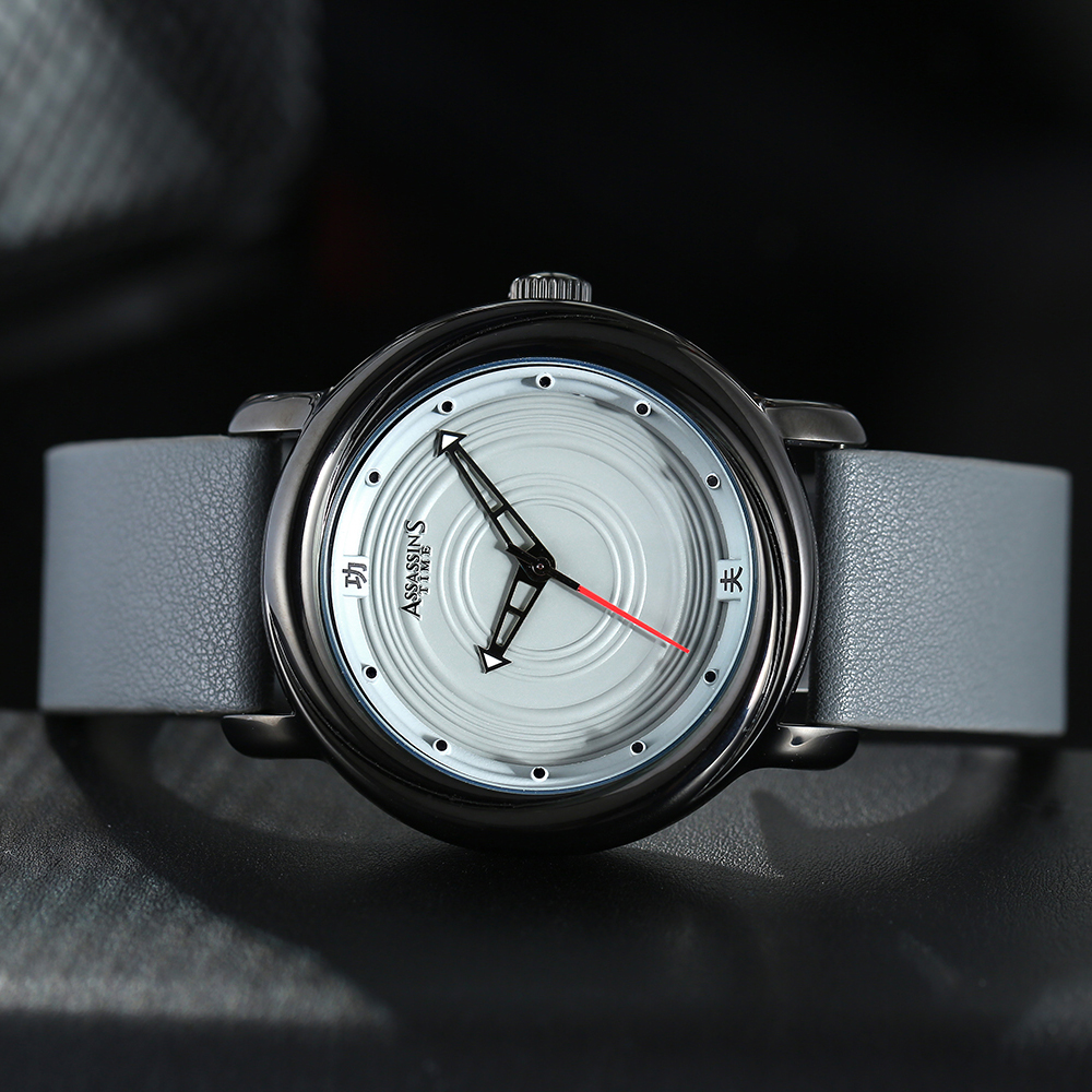 Assassin's Time Mens Luxury Vattentät Quartz Watch Man Läder Sport - Herrklockor - Foto 3