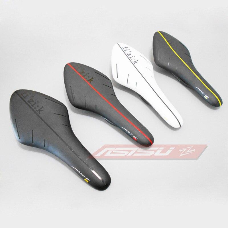 Цена за 2017 Горячей продажи FIZIK седло велосипеда дороги MTB седло сверхлегких кожа углерода седла велосипеда сиденье sillin bici Железнодорожных лук подушки