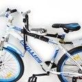 Горный Велосипед Седло Детей Безопасности Складной Стул для Электрические Детские Ребенка Велосипед Кресло Фронта с Подушкой Педали
