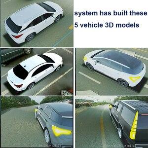 Image 5 - SZDALOS système de vue doiseau HD, 3D 360, Surround View, multi angles réglables, caméra de voiture en métal, capteur DVR G 1080P