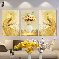 Peacock Canvas Paintings Colorful Wall Art Animal Pictures for Living Room Modern Home Decor Decorative Poster