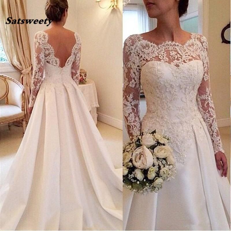Satsweety мягкие кружевные милые свадебные платья идеально 2020 новая Кружевная аппликация Свадебная Платье Русалка Robe De Mariage