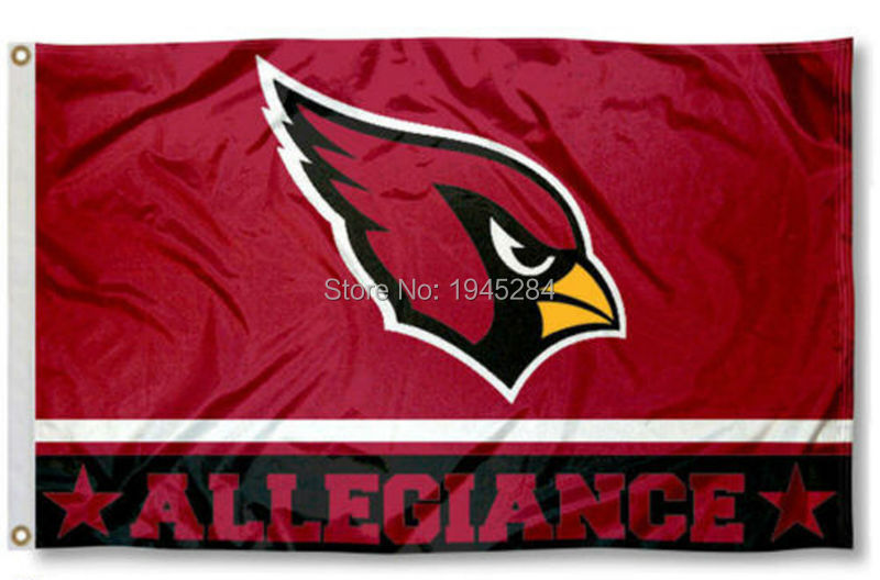 NFL Arizona Cardinals Flag 3x5ft 150x90cm Polyester Flag Banner, free shipping