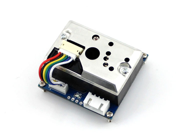 Dust Sensor Simple Air Monitor Integrates GP2Y1010AU0F Onboard Detecting Cigarette Smoke PM2.5 Detector High Sensitivity