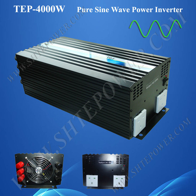 цена на Wholesale off grid pure sine wave inverter 4000w 48v 220v 230v inverter solar