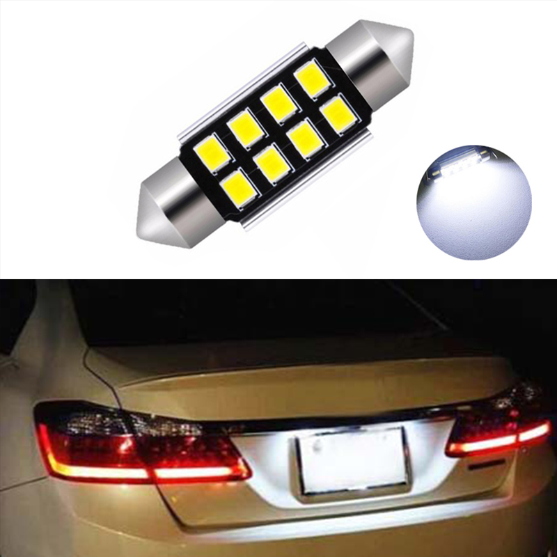 2x Ford KA MK2 Bright Xenon White 3SMD LED Canbus Number Plate Light Bulbs