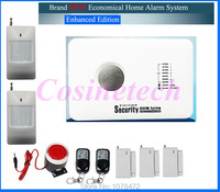 315/433MH cheap GSM alarm system alarm system with APP control3 wired and 70 wireless defense zones Burglar Alarm System