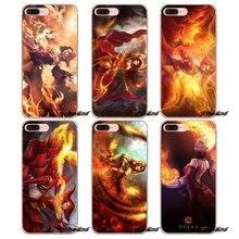 Lina Inverse Dota 2 Art Silicone TPU Case For IPhone X 4 4S 5 5S 5C