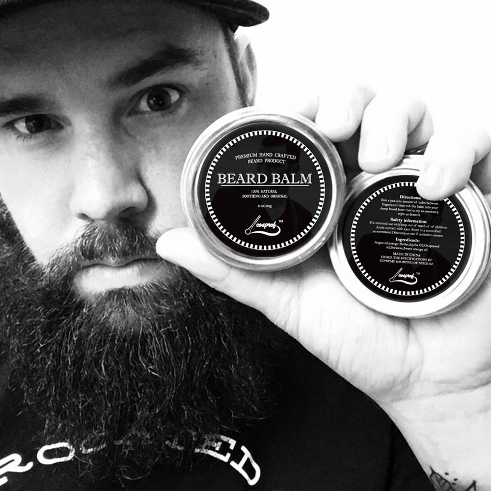 60g 100% Natural Beard Balm Moustache Growth Product Cream Beard Oil Conditioner Beard Balm Beard Styling Moustache Wax кольца гимнастические крепыш