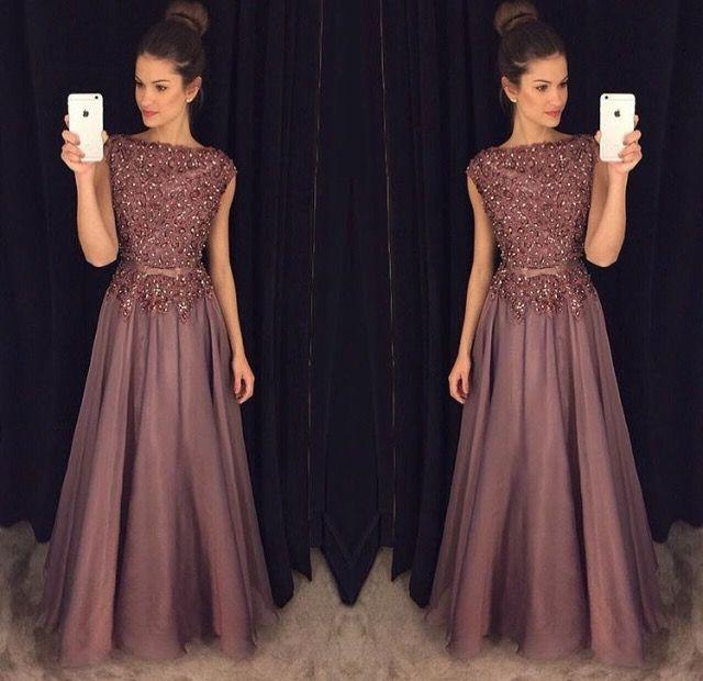 High Quality Brown Lace Evening Gown-Buy Cheap Brown Lace Evening ...