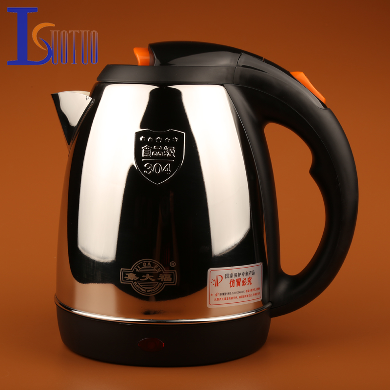 JDC-1200E 1.2L Stainless Steel Cordless Electric Kettle 220V Electric Water Kettles 1360W Power 360 Degree Rotational Base Kett 14 5 11 2