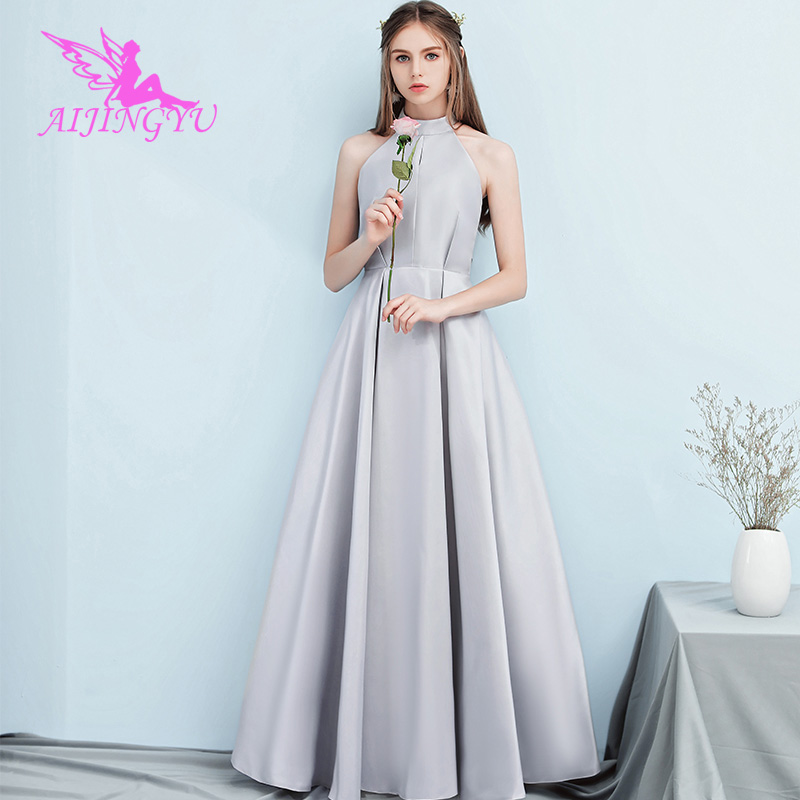 AIJINGYU 2018 Sexy Wedding Guest Party Prom Dress Bridesmaid Dresses BN835