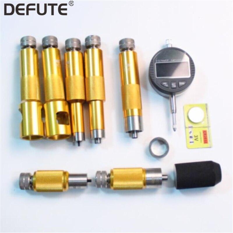 Common Rail Injector Válvula Solenóide Arruela De Ajuste Calços Gap Armação Elevador Reparação Kits de Ferramentas de Medição