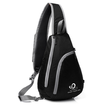 Fashion One Shoulder Backpack Outdoor Triangle Trend Chest Pack Men and Women Single Sport Bags Mochila