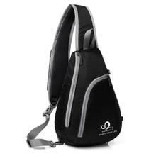 फैशन एक कंधे बैकपैक आउटडोर त्रिकोण प्रवृत्ति छाती पैक पुरुषों और महिलाओं एकल बैकपैक खेल कंधे छाती बैग Mochila