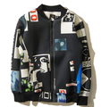 2015 Street hiphop space cotton hba baseball hoodies bape