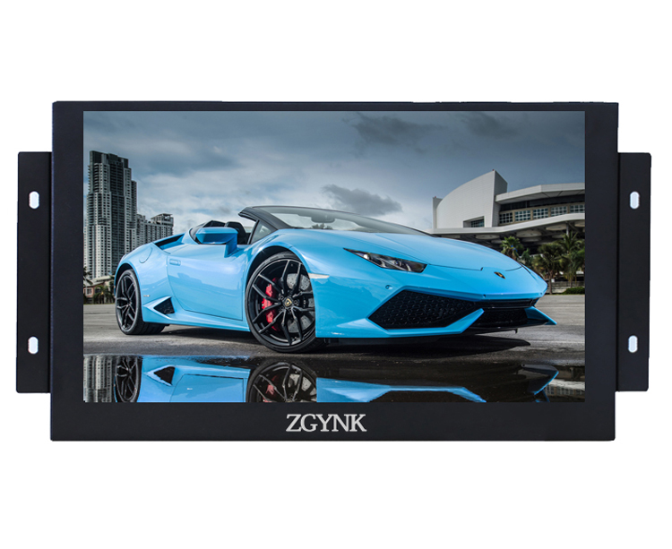 ZGYNK / 11.6 inch Open Frame Industrial monitor/ metal monitor with VGA /AV/BNC/HDMI monitor 11 6 inch metal shell lcd monitor open frame industrial monitor 1366 768 lcd monitor mount with av bnc vga hdmi usb interface