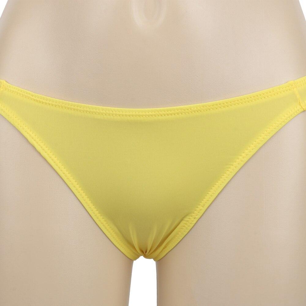Ice Silk Men's Bikini Underwear Low-waist Male Panties Men Sexy Underwear Translucent Briefs  Soft Breathable Bikini Underpants
