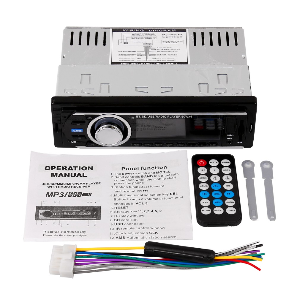 2016 New 12v Car Tuner Stereo Bluetooth Fm Radio Mp3 Audio Player Hyundai 01 Wiring Diagram 09 05 03 04 Htb19xm Npxxxxxdxxxxq6xxfxxxl Htb1aie6npxxxxaxxxxxq6xxfxxxy