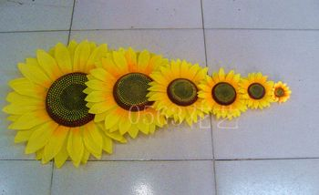 Sunflower artificial flower sunflower props dance props flower sunflower artificial flower фото