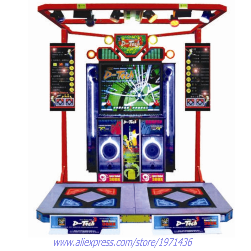 Amusement Equipment Token Coin Operated Simulator Music Dance Arcade Game Machine For Teenagers and Adult