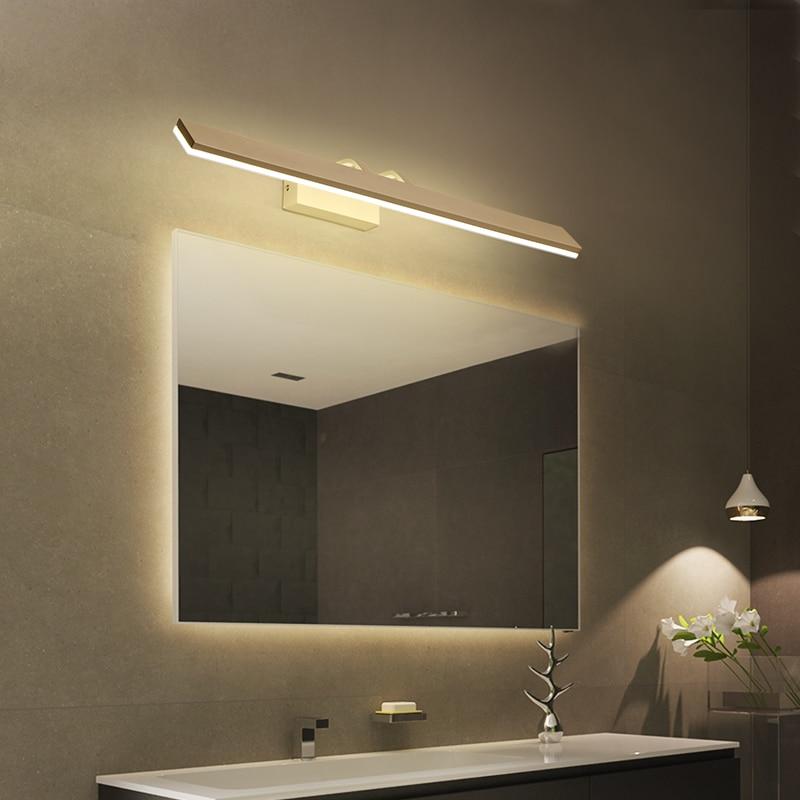 Moderno e minimalista LED luce dello specchio lampada da comodino led lampada da parete luce del bagno ha condotto le luci da parete diretta creativo corridoio camera da letto della lampada - 2
