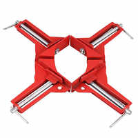Corner Clamps 3inch 2pcs 90 Degree Right Angle Clamp Mitre Clamp for Wood Working Metal DIY Glass Picture Framing Jig, Quick G