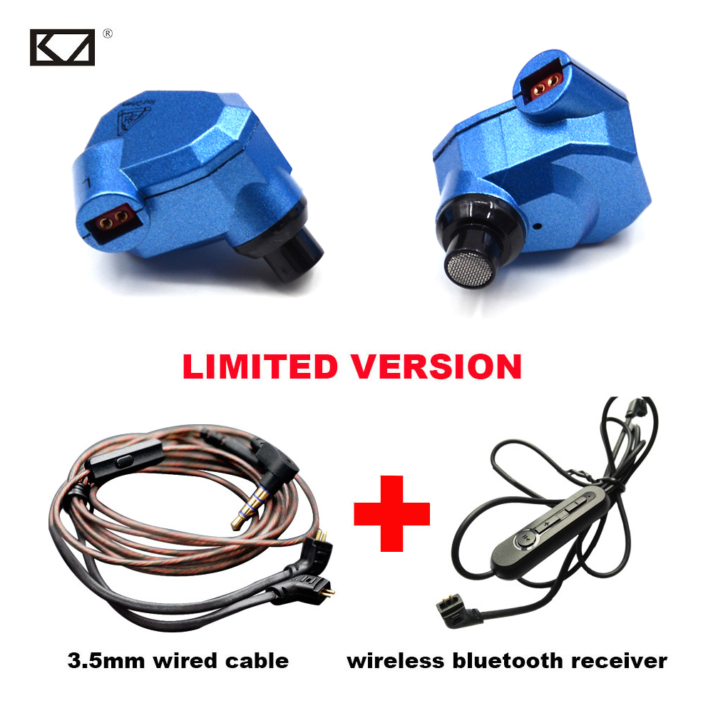 KZ ZS5 2DD+2BA Running Sport Bluetooth Earphone HiFi Hybrid Bluetooth Headphone Bass Upgrade Receiver Cable for Phones PC MP3 чехол переноска sport elite zs 6525 65x25cm silver