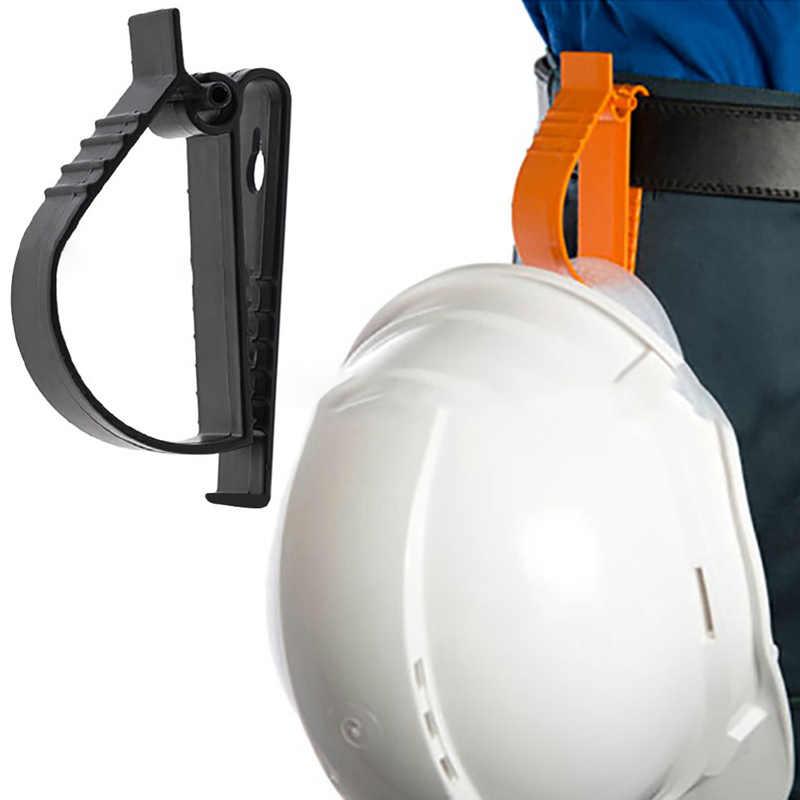 POM Multifunzionale Morsetto Casco di Sicurezza Morsetto Paraorecchie Morsetto chiave catene di clip di Protezione Del Lavoro Morsetto clip di Lavoro Casco clip di